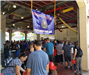 2019 Pancake Breakfast Apparatus Floor View with Explorers Banner