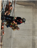 Firefighters Propelling Down Side of Wall 15