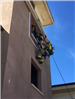 Firefighters Propelling Down Side of Wall 39