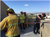 Ropes Tied on Roof for Rope Propelling Training 1