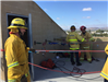 Ropes Tied on Roof for Rope Propelling Training 3