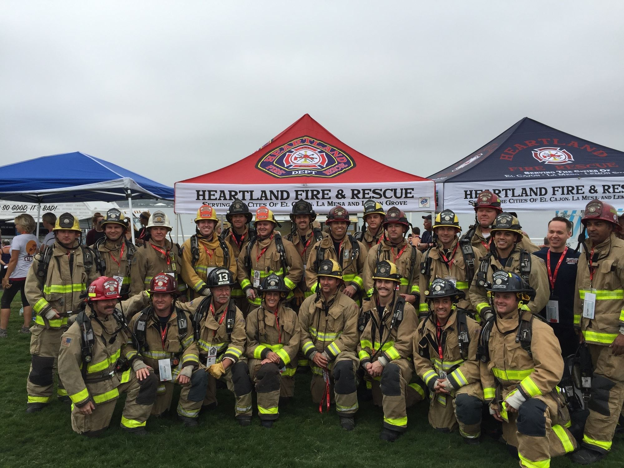 Heartland Fire and Rescue staff
